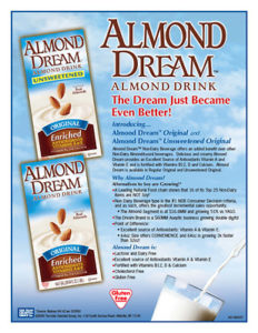 Almond Dream sell sheet