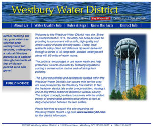 Westbury website image