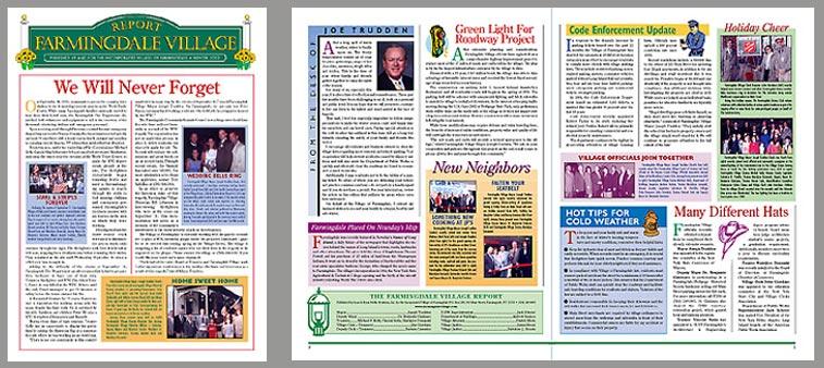 Farmingdale newsletter