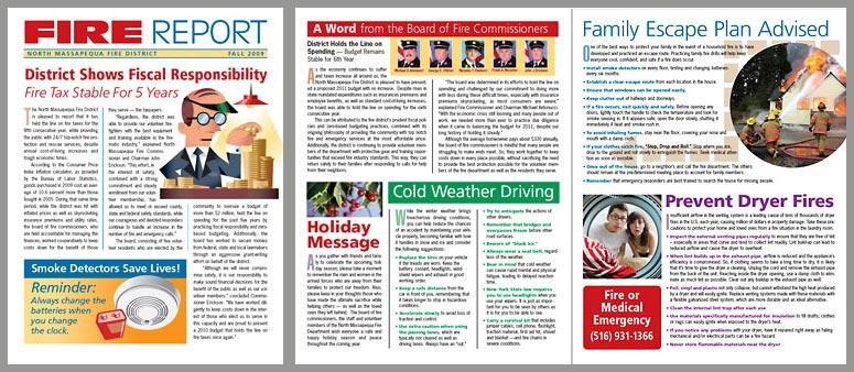 Fire Report newsletter