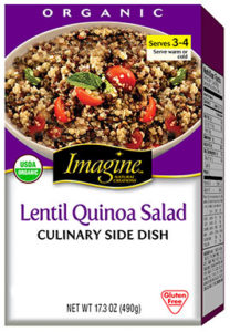 Quinoa packaging image