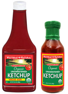 Ketchup packaging image