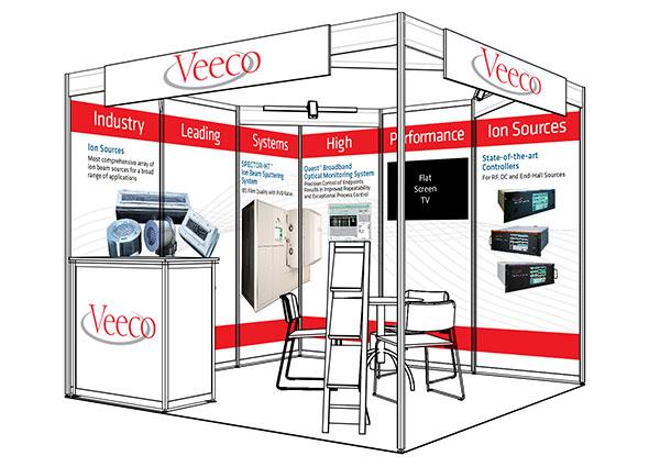 Veeco trade show image